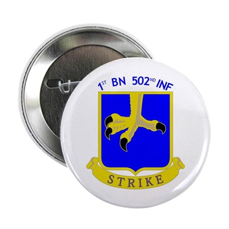 1st BN 502nd INF Button