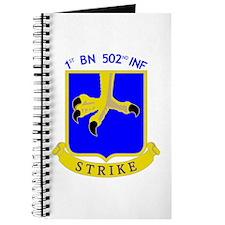 1st BN 502nd INF Journal