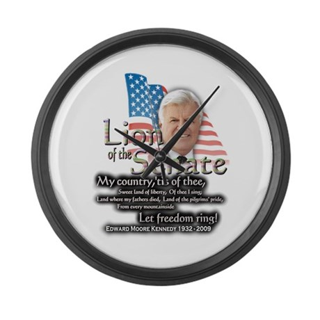 Ted Kennedy 1932 - 2009 ... Large Wall Clock