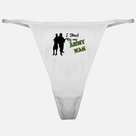 Cute Army master sergeant Classic Thong