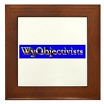 WyObjectivists Framed Tile