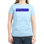 WyObjectivists Women's Pink T-Shirt