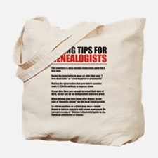 Dating Tips Tote Bag