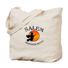 Salem Massachusetts Witch Tote Bag