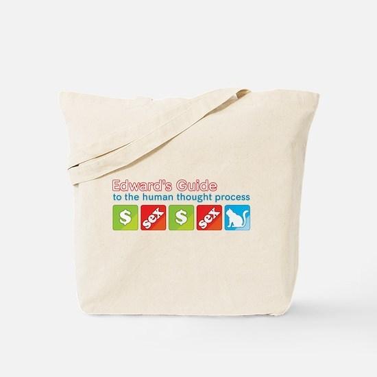 Money Sex Cat Tote Bag