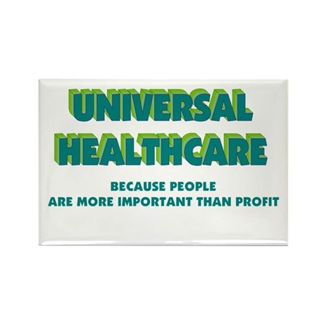 Universal HealthCare Rectangle Magnet (10 pack)