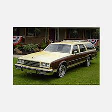 1982 Buick LeSabre Wagon Rectangle Magnet