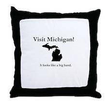 Unique Up north michigan Throw Pillow
