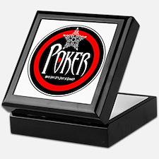 Poker:Just A Game? Keepsake Box