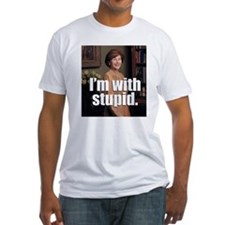 I'M WITH STUPID - Shirt