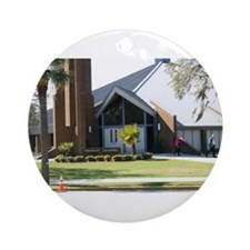 Parris Island Chapel Ornament (Round)