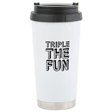 Triple The Fun Travel Mug