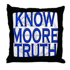 Michael Moore Speaks the Trut Throw Pillow