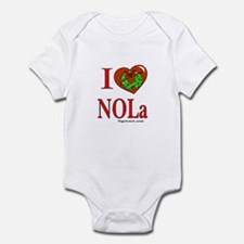 Unique New orleans christmas Infant Bodysuit