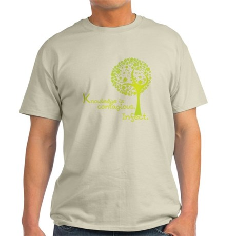 Knowledge is Contagious Light T-Shirt