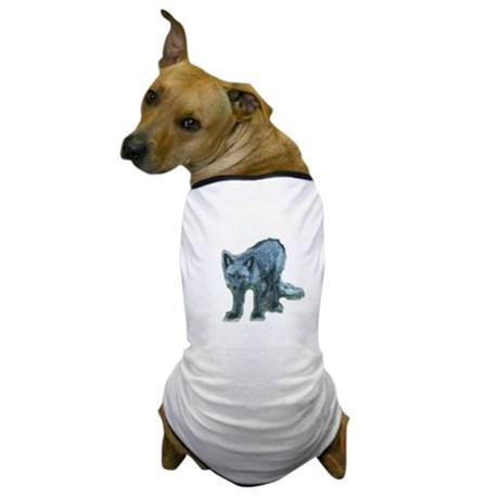 Pure Silver Fox Dog T-Shirt