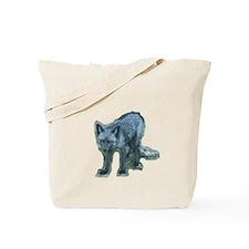Pure Silver Fox Tote Bag