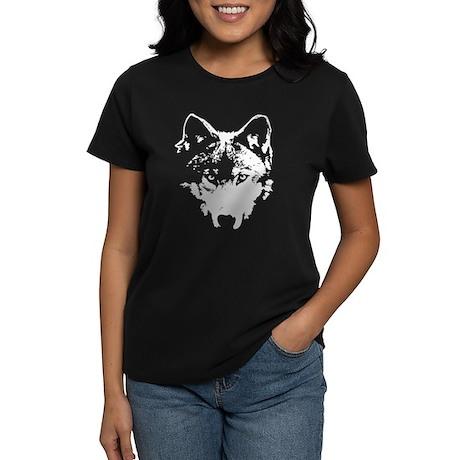 Vector Wolf Women's Dark T-Shirt