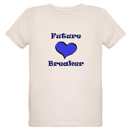 Heartbreaker Blue Organic Kids T-Shirt