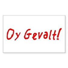 Oy Gevalt Rectangle Decal