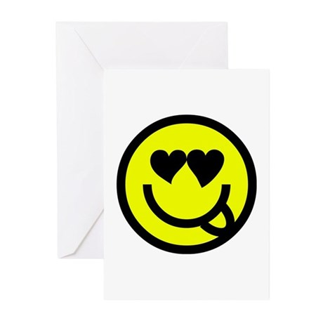 Smiley Greeting Cards (Pk of 10)