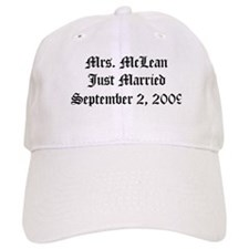 Mrs. McLean Just Married September 2, 2009 Baseball Cap