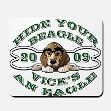 Vick Beagle Eagle Disguised Mousepad
