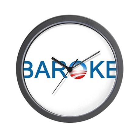 Baroke Wall Clock