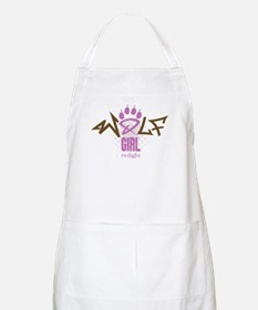 Twilight Wolf Girl BBQ Apron