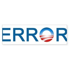 Error Bumper Bumper Sticker