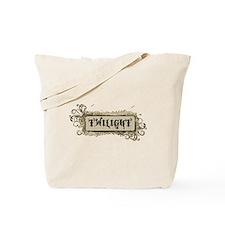 Retro Twilight Tote Bag