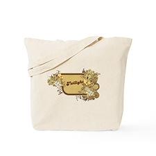 Retro Twilight Logo Tote Bag
