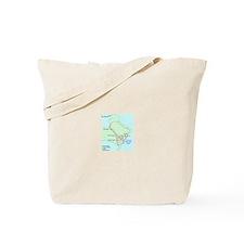 Plan of Carthage Tote Bag