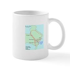 Plan of Carthage Mug
