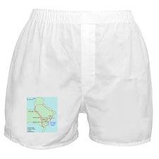 Plan of Carthage Boxer Shorts