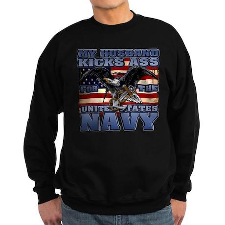 USN Husband Sweatshirt (dark)