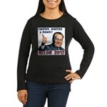 Tanned, Rested & Ready Women's Long Sleeve Dark T-