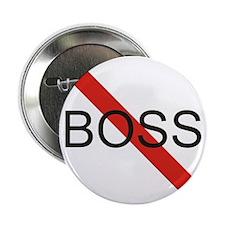 """No Boss 2.25"""" Button (10 pack)"""