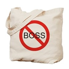 No Boss Tote Bag