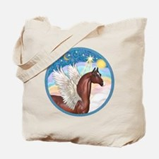 Clouds/Horse (Ar-Br) Tote Bag