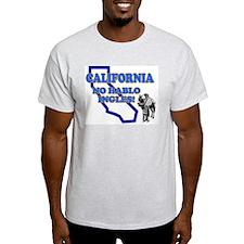 CALIFORNIA RETRO FUNNY SHIRT  Ash Grey T-Shirt