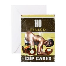ho filled Greeting Card