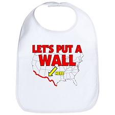 WALL BETWEEN MEXICO AND USA R Bib
