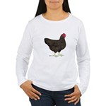 Partridge Rock Hen Women's Long Sleeve T-Shirt
