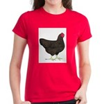 Partridge Rock Hen Women's Dark T-Shirt