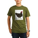 Partridge Rock Hen Organic Men's T-Shirt (dark)