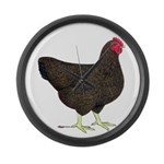 Partridge Rock Hen Large Wall Clock