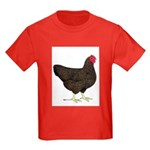 Partridge Rock Hen Kids Dark T-Shirt