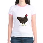 Partridge Rock Hen Jr. Ringer T-Shirt