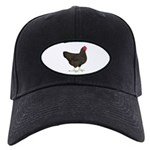 Partridge Rock Hen Black Cap
